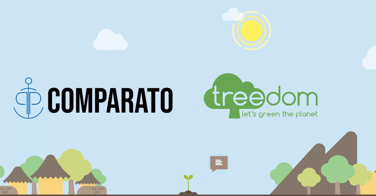 Treedom x Comparato: Abbiamo piantato un albero